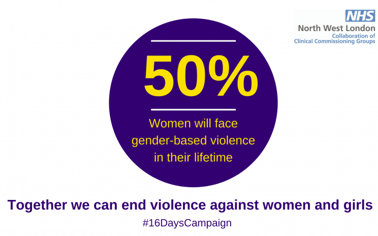 Can you help to end violence against women and girls?